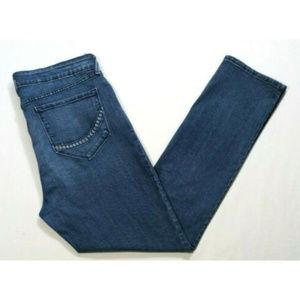 NYDJ Women Embellished Sheri Skinny Jeans 2734E1